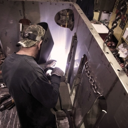 rotational mold welding